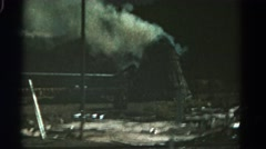 1967: large domed structure producing plume of smoke COLORADO Stock Footage