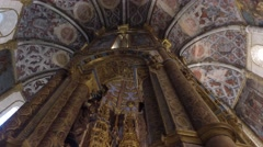 Temple of Hermitage of Our Lady - Convent of Christ, Tomar Stock Footage