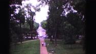 1964: garden is seen JAMESTOWN, VIRGINIA Stock Footage
