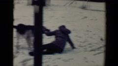 1967: dog is seen being pet TUCSON, ARIZONA Stock Footage
