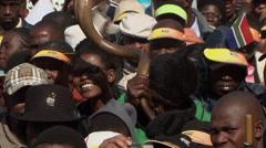 Jacob Zuma Jacob Zuma Inauguration Stock Footage