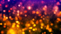 HD Loopable Background with nice colorful bokeh Stock Footage