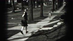1946: catch me if you can HARRISBURG Stock Footage