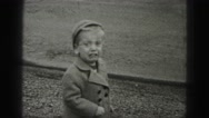 1946: small child is seen crying HARRISBURG Stock Footage
