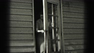 1946: woman is seen posing HARRISBURG Stock Footage