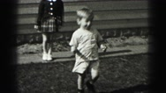 1946: toddlers is seen crawling HARRISBURG Stock Footage