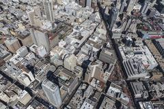 Aerial View of Urban Downtown San Francisco Streets and Buildings Kuvituskuvat