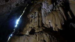 Panoramic by Cave Stock Footage