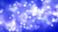 HD Loopable Background with nice blue bokeh Stock Footage