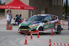 Eskisehir Rally 2016 Stock Photos