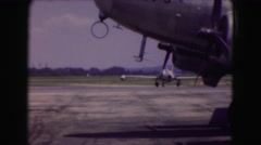 1946: an aircraft is seen being prepared WASHINGTON, DC Stock Footage