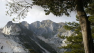Marble quarries in Carrara apuane mountains Stock Footage