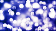 HD Loopable Background with nice glowing bokeh Stock Footage