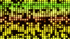 HD Loopable Background with nice glowing leds Stock Footage