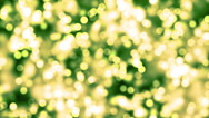 HD Loopable Background with nice green glowing bokeh Stock Footage