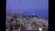 1963: outdoor scene CALIFORNIA Stock Footage