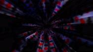 Poker Card Seems Symbols Tunnel Background, Loop, 4k Stock Footage