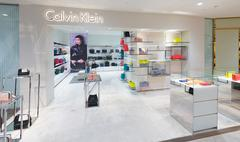 Calvin Klein store in Suria KLCC, Malaysia Stock Photos