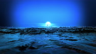 Rising Moon over the Sea. Stock Footage