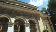 Tea House in the Summer Garden St. Petersburg Stock Footage