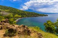Amed Beach - Bali Island Indonesia Stock Photos