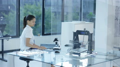 4K Electronic engineering team working together Stock Footage