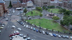 Timelapse of Church square in Pretoria South Africa Stock Footage