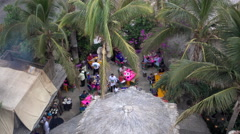 A restaurant in Cabo San Lucas, Mexico. Stock Footage
