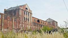 "DP ""Potassium Plant"" JSC ""Oriana"" - abandoned potash plant in the city. Kalusch Stock Footage"