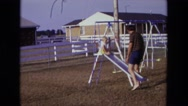 1975: swing scene is seen CALIFORNIA Stock Footage