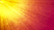 HD Loopable Background with nice sun rays Stock Footage
