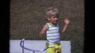 1975: kid is seen CALIFORNIA Stock Footage
