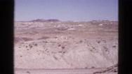 1953: desert landscape CALIFORNIA Stock Footage