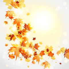 Falling leaves Piirros