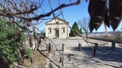 Templar christ church  - Tomar, Portugal Stock Footage