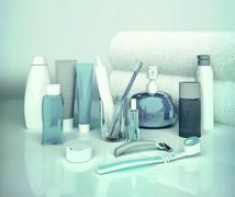 Set for morning hygiene. Stock Illustration