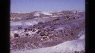 1953: mountain area is seen traveling by road BOSTON Stock Footage
