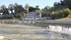Park of Montjuic  - Spain Stock Footage