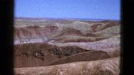 1953: red mountain of utah BOSTON Stock Footage