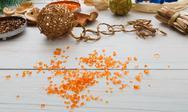 Creative diy hobby. Handmade craft christmas decoration Stock Photos