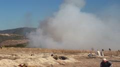 Afghanistan Mujahideen Battle Scene Stock Footage