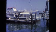1962: ship is seen SAN PEDRO, CALIFORNIA Stock Footage