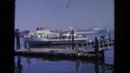 1962: ship is seen SAN PEDRO, CALIFORNIA Stock Footage