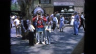 1962: chief uses sign language to explain to young braves SAN PEDRO, CALIFORNIA Stock Footage