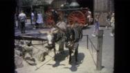 1962: tourist area is seen SAN PEDRO, CALIFORNIA Stock Footage