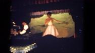 1962: honky tonk style dancing SAN PEDRO, CALIFORNIA Stock Footage