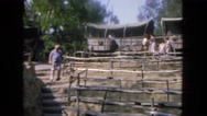 1962: museum about the old west SAN PEDRO, CALIFORNIA Stock Footage