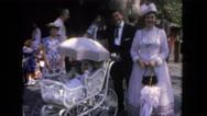 1962: couple is seen walking happily SAN PEDRO, CALIFORNIA Stock Footage