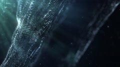 Particles dust abstract light bokeh motion titles cinematic background 16 Stock Footage