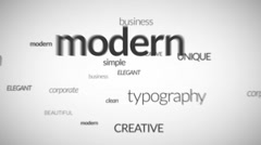 3D Business Typography Text Titles Fly Logo Reveal Modern Texts Animation Intro Stock After Effects